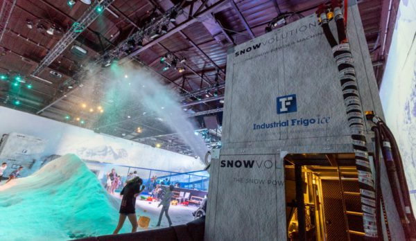 Snowvolution Snow Making Machine Industrial Frigo Ice USA