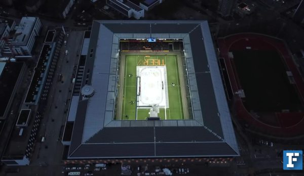 Swiss ice hockey league glide over our Professional Ice Rink